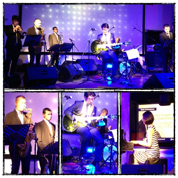 Shadow Puppets Septet was playing in @atamerica, last sunday (13/1/13)