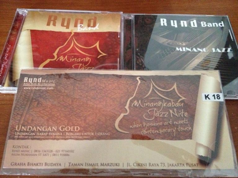 Undangan Minangkabau Jazz