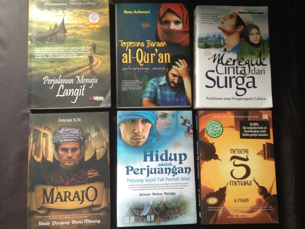 sebagian Novel yang menceritakan tentang Minang
