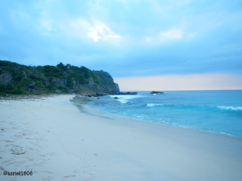 Really pretty beach scenery of Panjang Beach in Sangiang Island,isn't it?